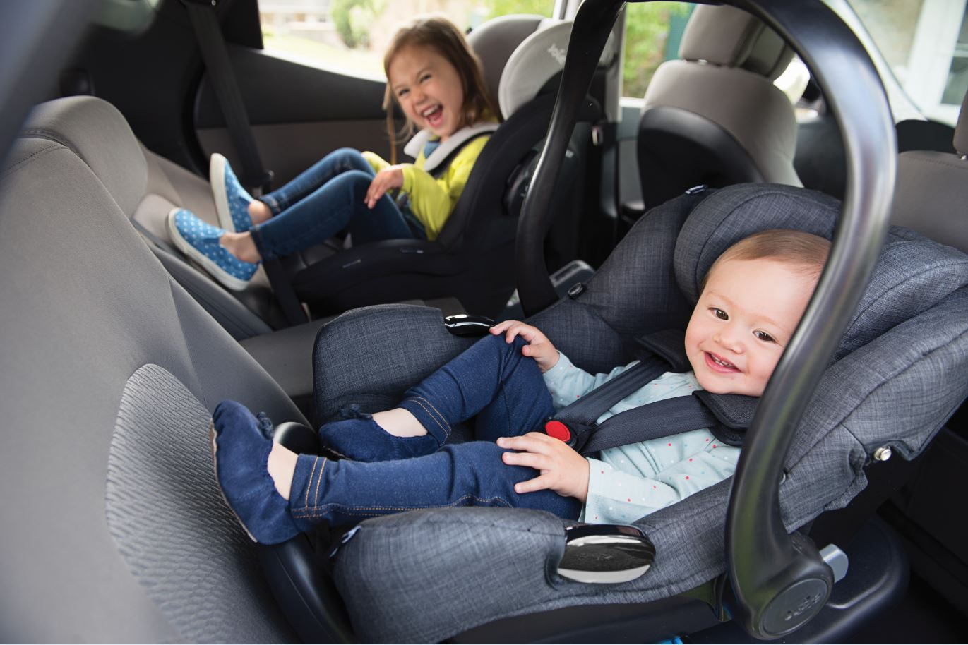 Infants in car seats