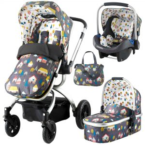 Guide To Buying Your First Pushchair - Cosatto Ooba 3 in 1 Pushchair Travel System