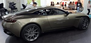 Silver Cross Aston Martin at Kind + Jugend