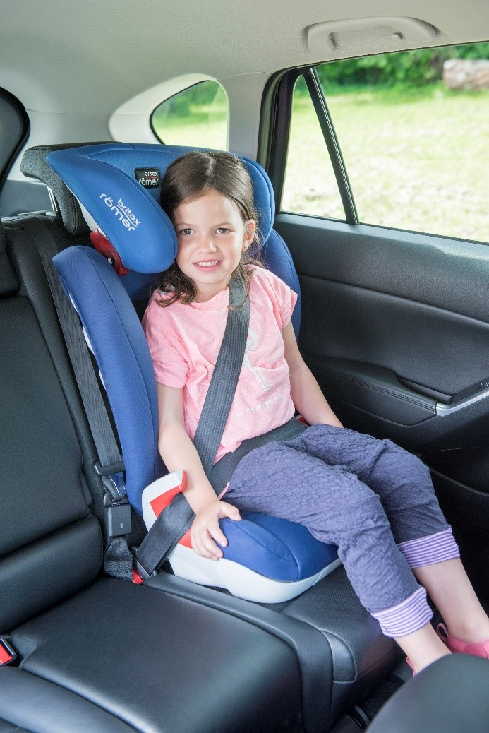 Car Seat Booster Safety - Correct Seat Belt Route