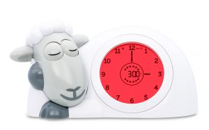 Encouraging a better sleep routine with Sam the Lamb - red traffic light