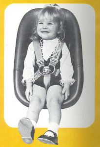 The Star Rider, our first child seat - Brief History of Britax Römer