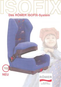 The first ISOFIX car seat