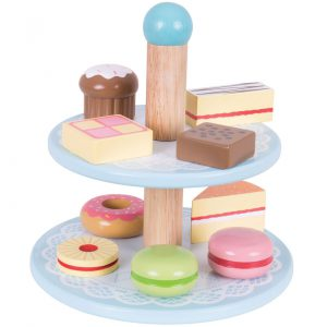 Gifts Future Chef - BigJigs Cake Stand with Cakes