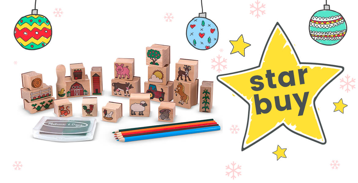 Stamp a Scene Stamp Set - Star Buy Best Christmas Gifts for Craft Lovers