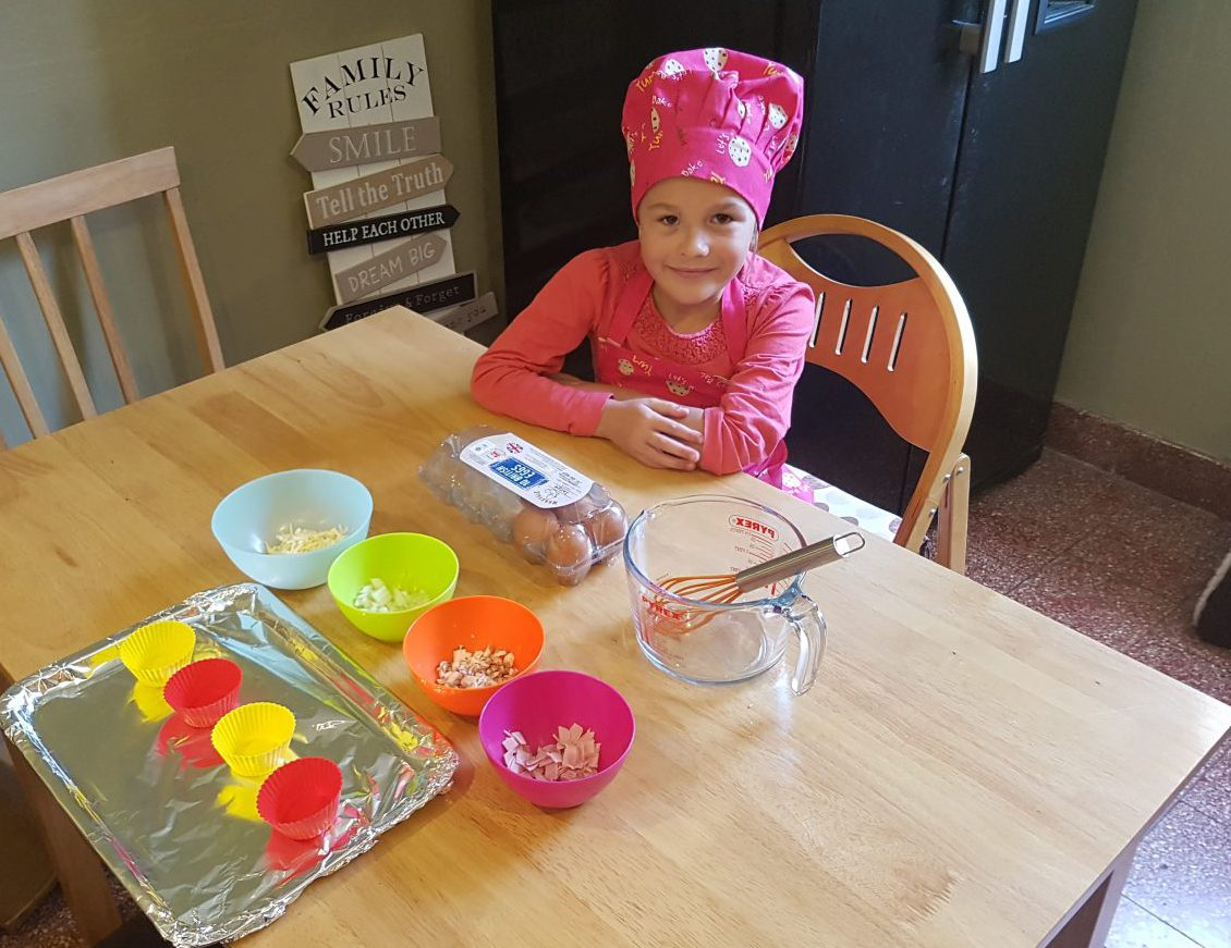 Lunchbox Omelettes Recipe - Ready to make mini omelettes