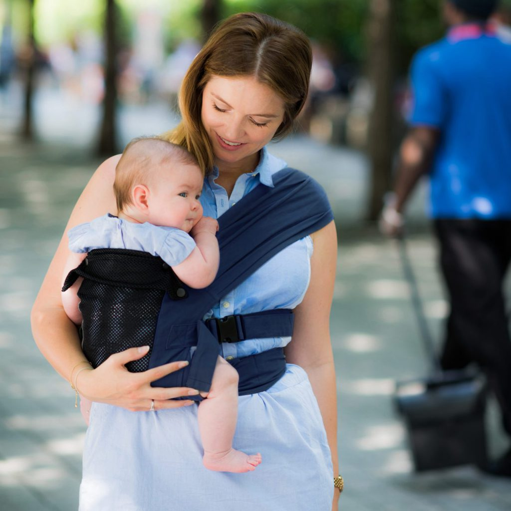 stages of babywearing